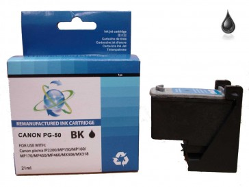 Canon PG-50 Black Remanufacured Ink 21ml