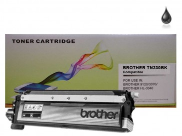 Brother TN-230BK Black Compatible Toner :2200pages
