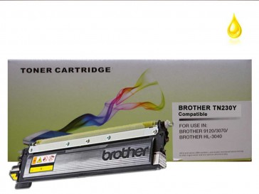 Brother TN-230Y Yellow Compatible Toner :1400pages