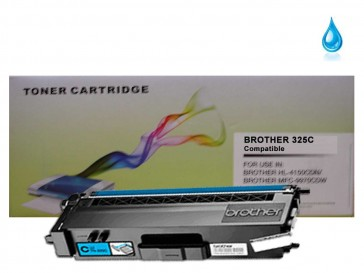 Brother TN-325C Cyan Compatible Toner :3500pages