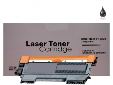 Brother TN-2220 Black Compatible Toner :2600pages