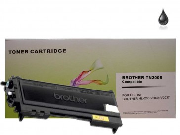 Brother TN-2005 Black Compatible Toner :1500pages