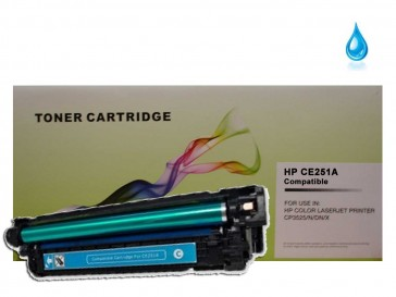 HP CE251A (HP 504A) Cyan Compatible Toner :7000pages