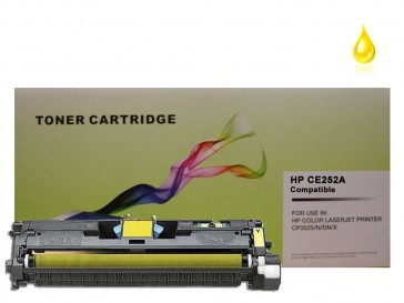 HP CE252A (HP 504A) Yellow Compatible Toner : 7000pages