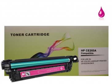 HP CE253A (HP 504A)Magenta Compatible Toner :7000pages
