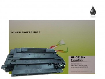 HP CE255X (HP 55X) High Capacity Black Compatible Toner :12500pages