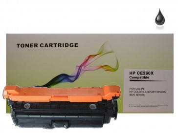 HP CE260X (HP 649X) High Capacity Black Compatible Toner :17000pages