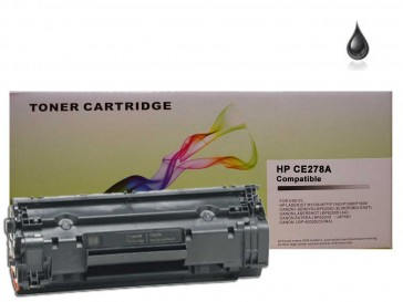 HP CE278A (HP 78A) , Canon 728 Black Compatible Toner :2100pages