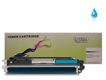 HP CE311A (HP 126A) Cyan Compatible Toner :1000pages