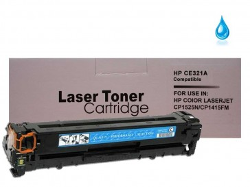 HP CE321A (HP 128A) Cyan Compatible Toner :1500pages