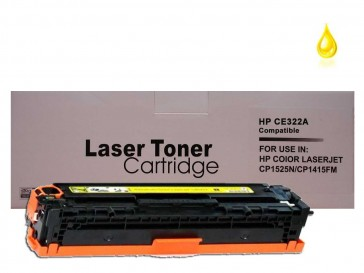 HP CE322A (HP 128A) Yellow Compatible Toner :1500pages