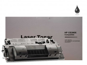 HP CE390X (HP 90X) High Capacity Black Compatible Toner :24000pages