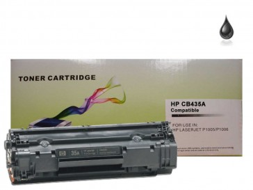 HP CB435A (HP 35A) Black Compatible Toner :1500pages