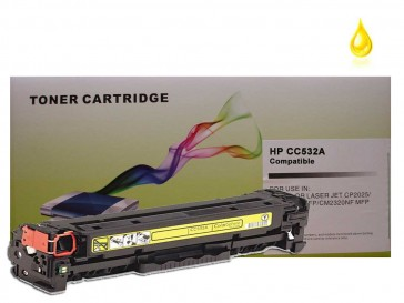 HP CC532A (HP 304A) Yellow Compatible Toner :2800pages