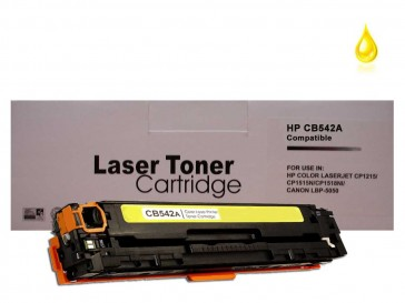 HP CB542A (HP 125A) / Canon 716 Yellow Compatible Toner :1400pages