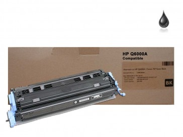 HP Q6000A (HP 124A) Black Remanufactured Toner :2500pages