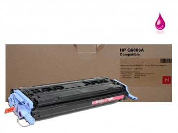 HP Q6003A (HP 124A) Magenta Compatible Toner :2000pages