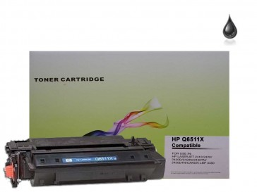 HP Q6511X (HP 11X) High Capacity Black Compatible Toner : 13500pages