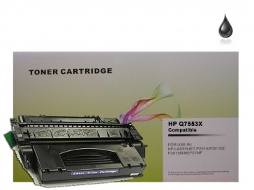 HP Q7553X (HP 53X) High Capacity Black Compatible Toner :7000pages