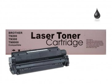 Brother TN-200 / TN-300 / TN-8000 Black  Unversal Compatible Toner :2200pages