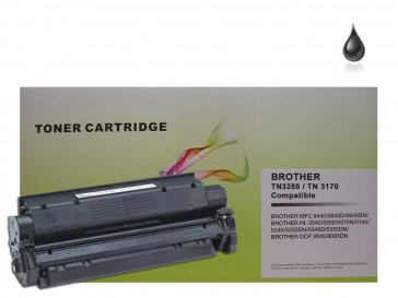 Brother TN-3280 / TN-3170 / TN-7600 / TN-3060 Black Universal Compatible Toner :7000pages