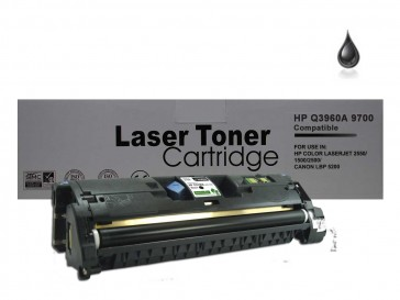 HP Q3960A (HP 122A) / Canon 701BK Black Remanufacured Toner : 5000pages