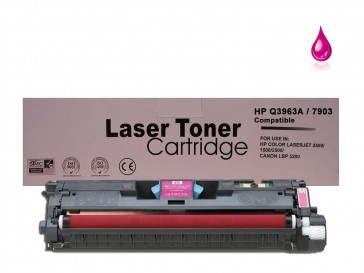 HP Q3963A (HP 122A) / Canon 701M Magenta Remanufacured Toner :4000pages