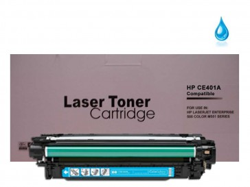 HP CE401A (HP 507A) Cyan Compatible Toner : 6000pages