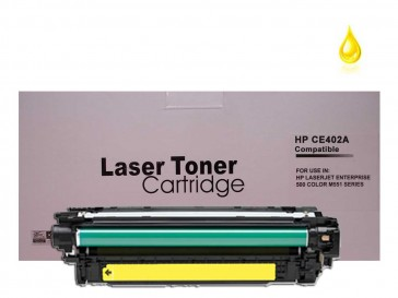 HP CE402A (HP 507A) Yellow Compatible Toner :6000pages