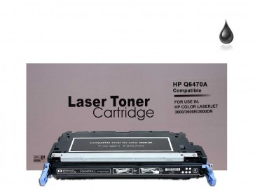 HP Q6470A (HP 501A) Black Remanufacured Toner :6500pages
