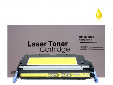 HP Q7582A (HP 503A) Yellow Remanufacured Toner :7000pages
