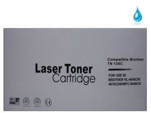 Brother TN-135C Cyan Remanufactured Toner :5000pages