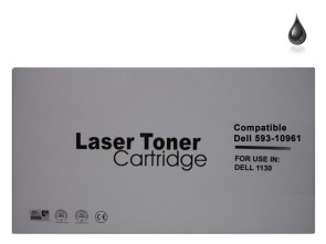 Dell 1130X (593-10961) (2MMJP) Black Compatible Toner :2500pages