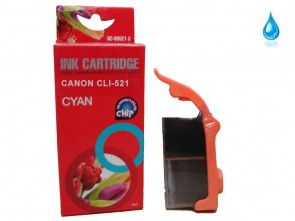 Canon CLI-521C Cyan Compatible Ink 10ml