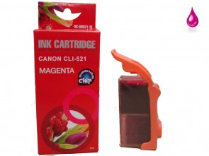 Canon CLI-521M Magenta Compatible Ink 10ml