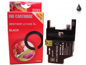 Brother LC-1240BK XL Black Compatible Ink 33ml