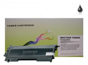 Brother TN-2000 Black Compatible Toner :2500pages
