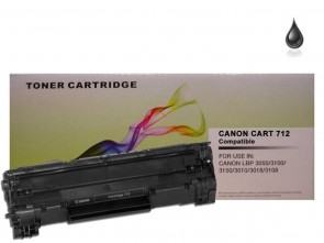 Canon 712 Black Compatible Toner :1500pages