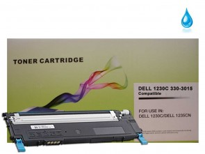 Dell 330-3015 (J069K) Cyan Compatible Toner :1000pages