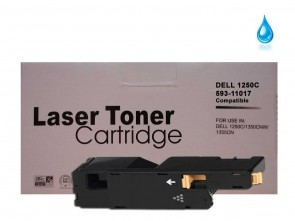 Dell 1250/1350 (593-11017 YPXY8) Cyan Compatible Toner :1400pages