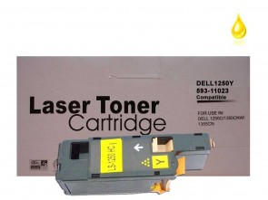 Dell 1250/1350 (593-11023 89KJM) Yellow Compatible Toner :1400pages