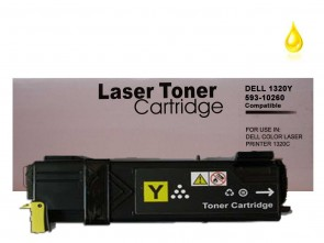 Dell 1320 (593-10260 PN124) Yellow Compatible Toner :2000pages