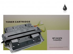 HP C4127X (HP 27X) Black High Capacity Remanufacured Toner :10000pages