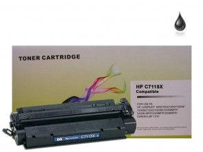 HP C7115X (HP 15X) High Capacity Black Compatible Toner :3500pages