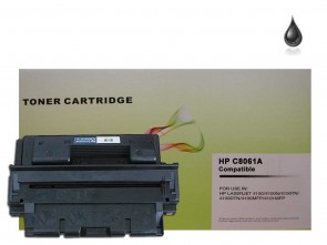 HP C8061A (HP 61A) Black Remanufacured Toner :6000pages