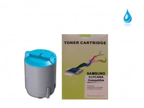 Samsung CLP-C300A Cyan Compatible Toner :1500pages