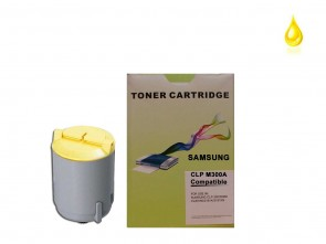 Samsung CLP-Y300A Yellow Compatible Toner :1500pages