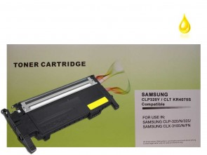 Samsung CLT-Y4072S Yellow High Capacity Compatible Toner :1500pages
