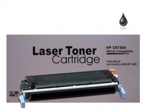 HP C9720A (HP 641A) Black Remanufacured Toner :9000pages