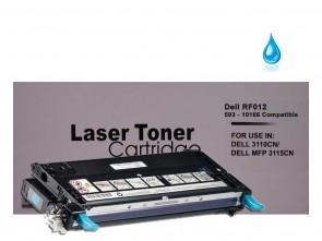 Dell 3110 (593-10166 RF012) Cyan Remanufacured Toner :4000pages